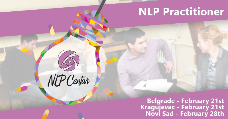NLP Practitioner in Belgrade, Novi Sad and Kragujevac