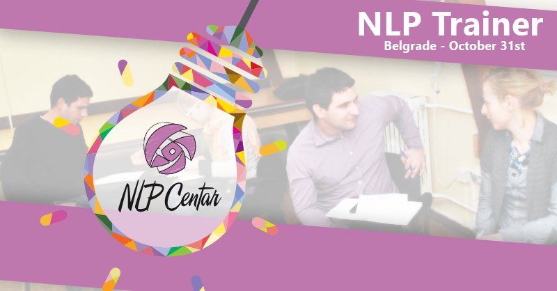 NLP Trainer training in Belgrade