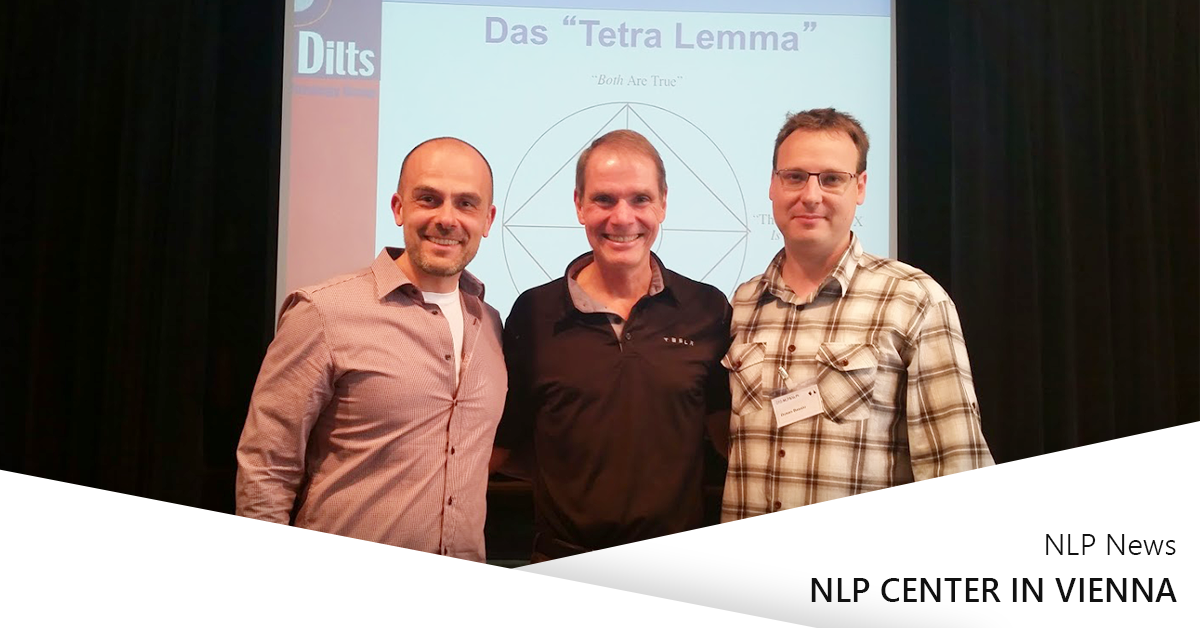 NLP Center at the Robert Dilts seminar in Vienna
